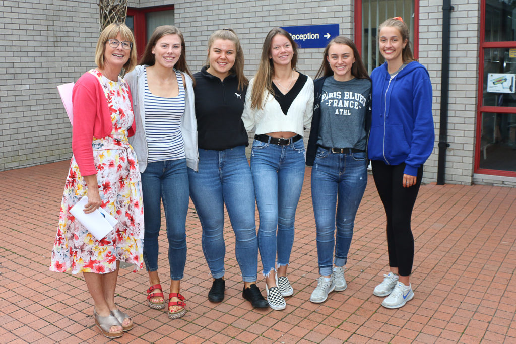 Smiles all around on Leaving Cert results day